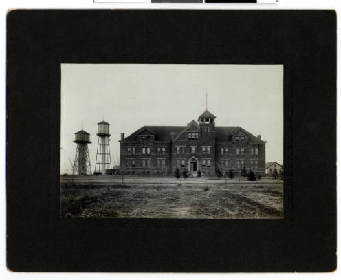 Pipestone Indian Training School's First Campus Building