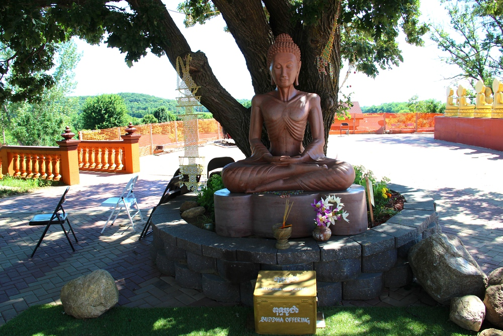 Meditating Buddha under a Tree