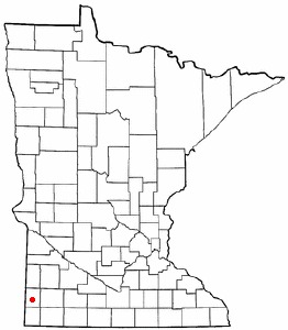 Map of Pipestone, MN