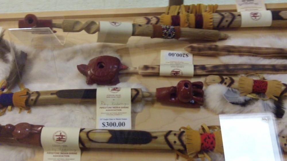 Catlinite pipes