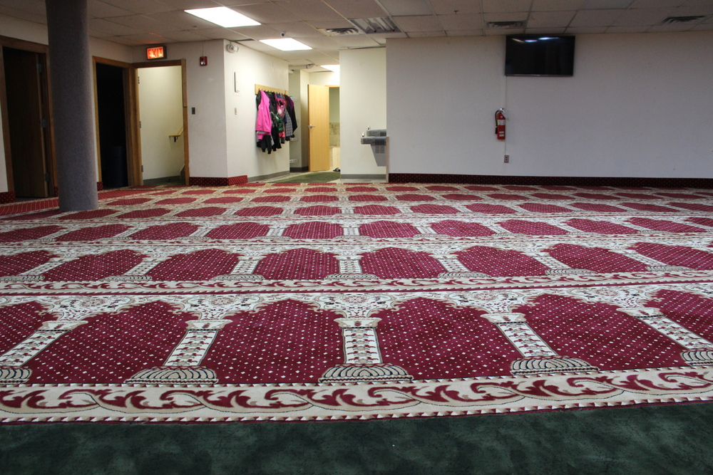 Women's prayer space in 2016