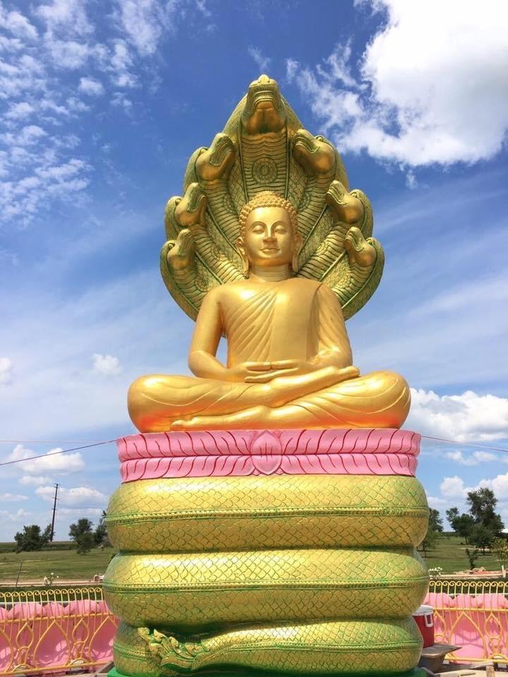 Mucalinda Buddha Statue.JPG