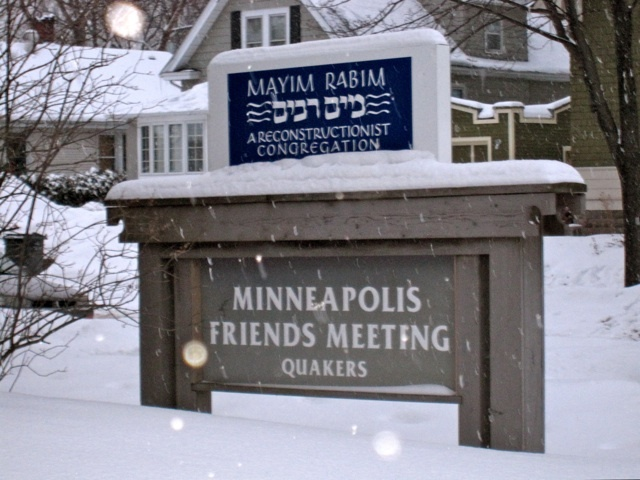 Minneapolis Friend&#039;s Meeting House <br />