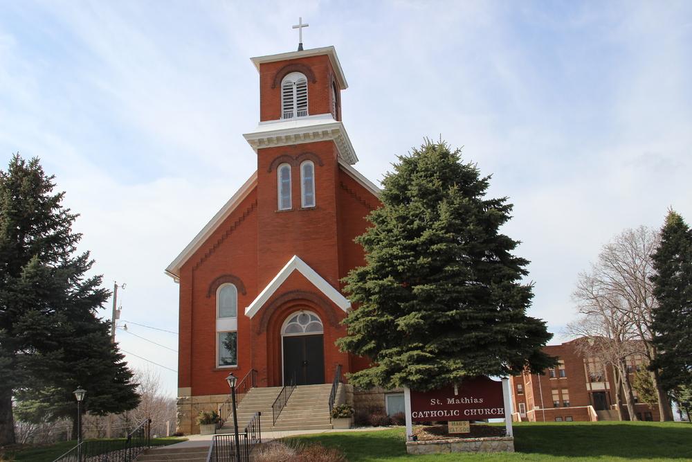St. Mathias Church in Hampton