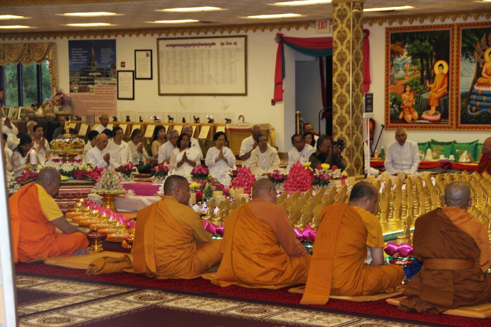 Monks At Visakha Puja 2016