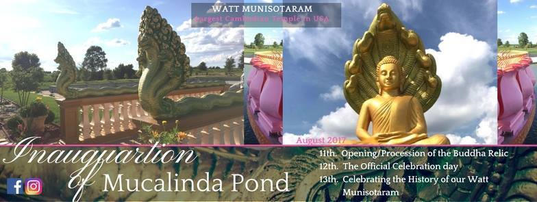 Inauguration of the Mucalinda Pond