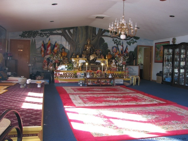 Old Temple Interior