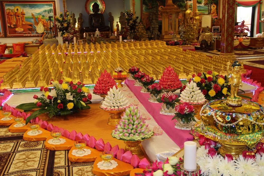 1000 Buddhas For Visahka Puja 2016