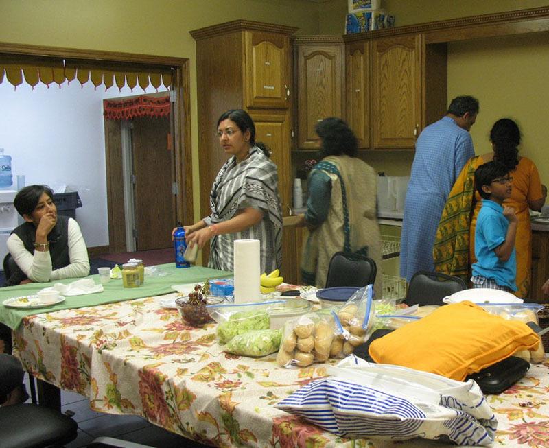 Kitchen of Chinmaya Mission