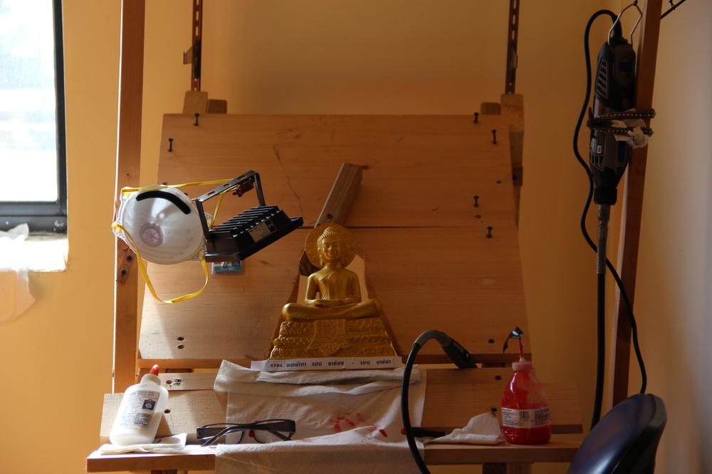 Buddha Painting Work Station