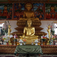 Two Buddhas in Upper Sanctuary