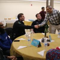 Table Conversations at Taking Heart Iftar at BCC