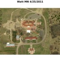 Aerial View of Watt Munisotaram from the South, April 2011<br />