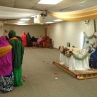 Photograph of bride at Somali wedding