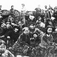 Dakota Refugees in 1862