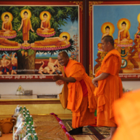 Ven. Vicheth Chum And Other Monks