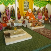 Altar and Murtis