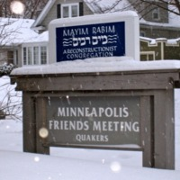 Minneapolis Friend's Meeting House <br />