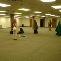 Women's prayer space