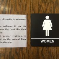 Gender Diversity is Welcomed Here- Bathroom Sign