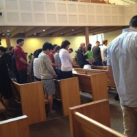 Prayer Service at Bethlehem Baptist Church