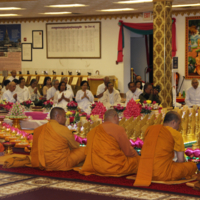 Monks At Visakha Puja 2016