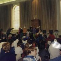 Students celebrate Purim