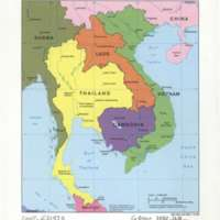 Map South Asia