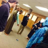Photograph of Compass App at Masjid