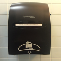 Recycled Paper Towel Dispenser