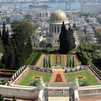 Bahá'í World Center in Haifa, Israel